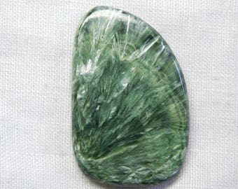 Fantastic Russian Seraphinite fansy shape cabochone superb gemstone 55.75CTS