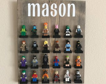 Personalized Minifig Display Sign/Board