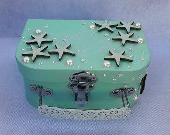 Birthstone shape suitcase gift box