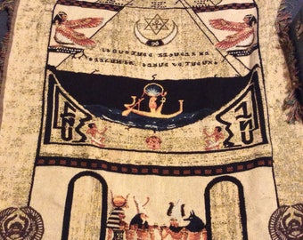 Egyptian God's depiction wall hanging