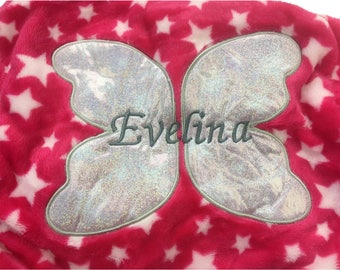 Personalised Pink Fairy Princess Dressing Gown Robe Age 4-5 Years