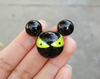 Glowing Haunted Mansion Eyes Mouse Head