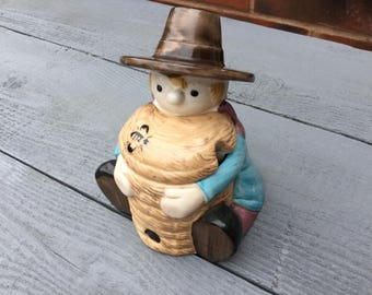 Vintage windy miller honey pot ( camberwick green )