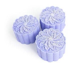 Lavendula Bath Bomb | Mini Bath Bomb | Bath Fizz | Purple Bath Bomb | Lavender | Jasmine | Lavender Bath Bomb