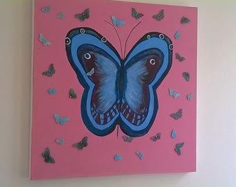 Queen Buterflies and babies