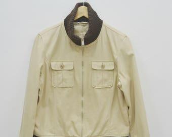 MCM Legere jacket women size S/M small medium