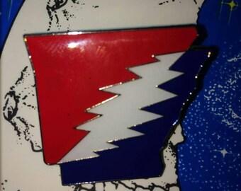 Arkansas state Grateful Dead and Company HatPin