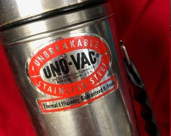 Uno-Vac Unbreakable Thermos Stainless Steel