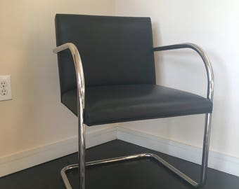 Ludwig Mies Van der Rohe BRNO Tubolar Chair for Knoll