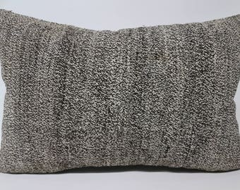 16x24 Turkish Kilim Pillow Anatolian Kilim Pillow 16x24 Handwoven Kilim Pillow Lumbar Kilim Pillow  Cushion Cover SP4060-1222