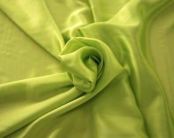 1712-087 - Crepe Satin silk 100%, width 135/140 cm, made in Italy, dry cleaning, weight 100 gr