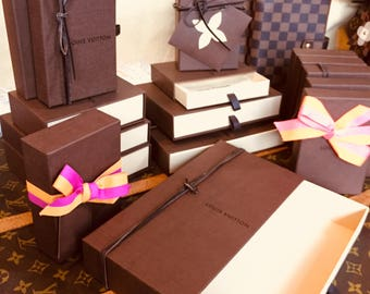 Authentic Louis Vuitton Storate/Gift Boxes- USED