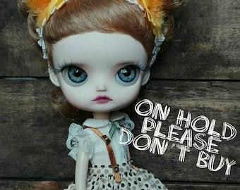 ON HOLD for S~please don't buy~ little one 49 Pullip Dal Cinnamorol custom on Yeolume body