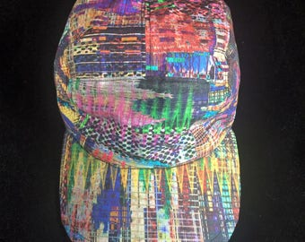 Trippy Techno Rave Five Panel