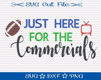 Football SVG File / SVG Cut File for Silhouette / Sports SVG / Superbowl svg / Super Bowl svg
