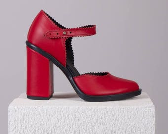 High Heel Shoes-Evening Shoes-Every Day Shoes-Women Shoes-Comfortable Shoes-Leather Shoes-Classic Shoes-Handmade Shoes-Unique Shoes