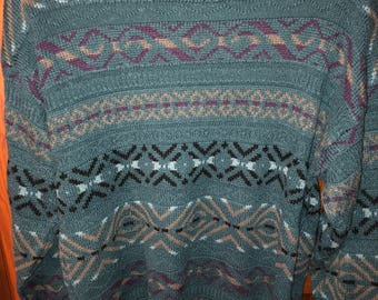 Vintage Peter England Pull-Over Sweater Size M