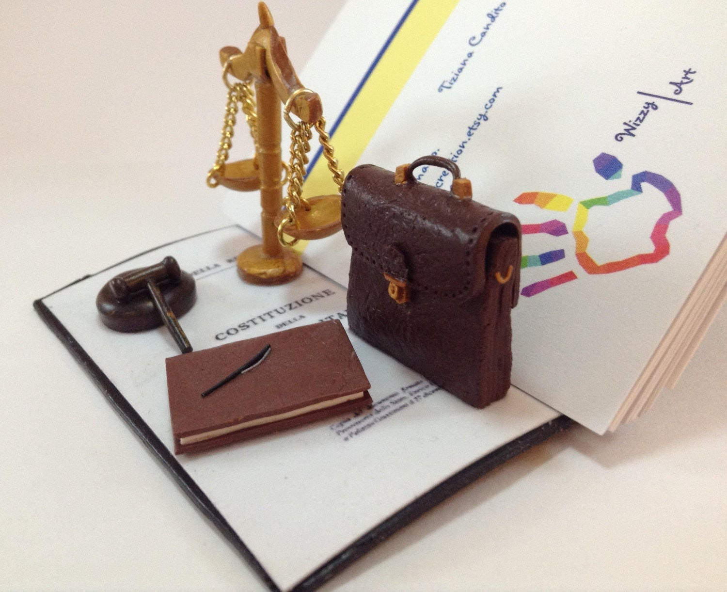 Personalized Gift For Lawyer, Attorney. Office Decor, Pretty Scale  Reproductions. Desk Business