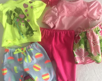 Two Fun Pants Outfits For American Girl For Bitty Baby