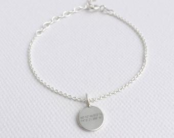 Bracelet coordinates