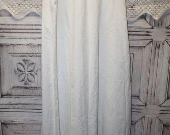 Brownstone Studio New York Size 10 Vintage White Skirt Lace Detail