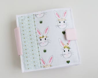Quiet Book-Alice in Wonderland-Baby Book-Toddler Activity Book-Felt Soft Book
