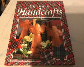 Christmas handcrafts book