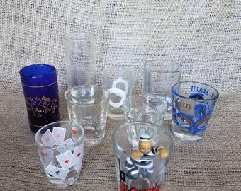 9 Shot Glasses #310