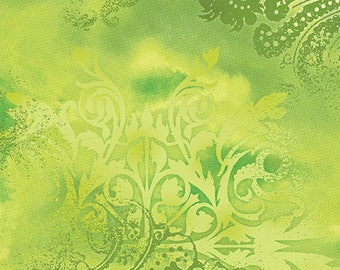 Benartex - Dreamscape - Lime  - Color 48