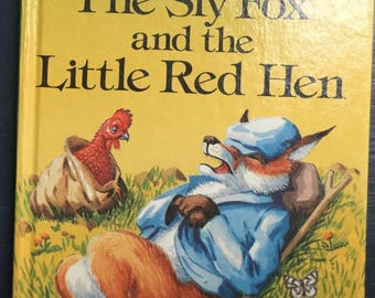 Vintage Ladybird Book-The Sly Fox and the Little Red Hen