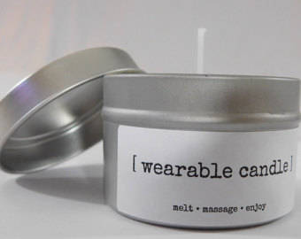 Wearable Candle (6 oz) - Super Vanilla scent