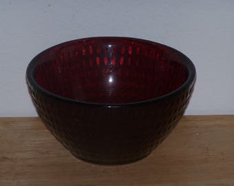 Ruby Red Cereal Bowl