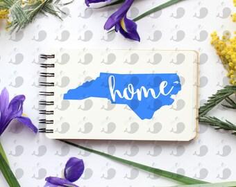 North Carolina Home Decal, North Carolina Decal