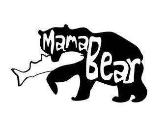 Mama Bear Vinyl sticker