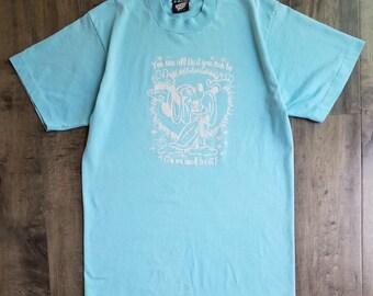 Vintage Disney Fantasia Crewneck T-Shirt Size M, Screen Stars Mickey Crewneck Tee