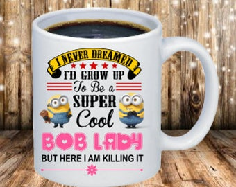 Minion Bob Lady Coffee Mug