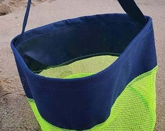 Sand Bucket, Sea Shell bag