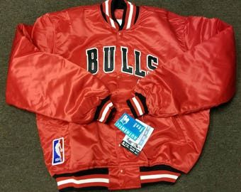 New vintage 90s Chicago bulls starter jacket size XL new with original tags