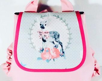 Backpack native Kawaii girl 2 to 6 years