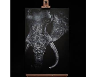 Ivory Original Painting