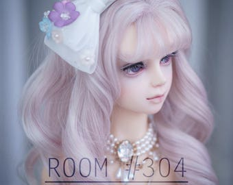 BJD Accessory : Heather hairband/hairpin for 1/3 BJD