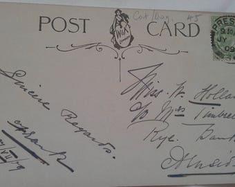 Vintage  post card circa 1900