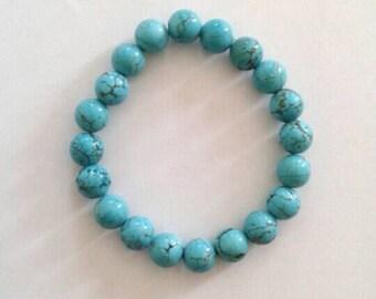 Beautiful Aqua-blue Bracelet