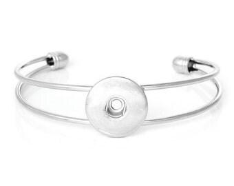 Designer Snap Bracelet