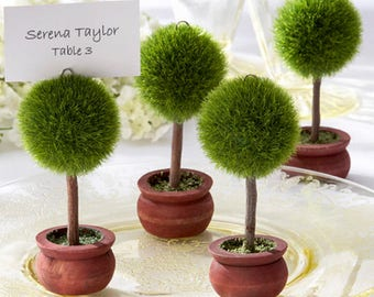 Topiary Photo Holder-place Card Holder- Set