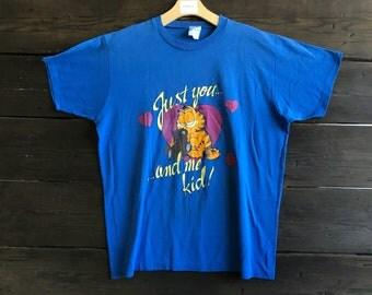Vintage 80s Garfield Tee