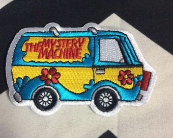 Scooby Doo The Mystery Machine Van Patch