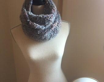 Hand Crocheted Infinity Scarf