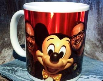 colour changing mug, magic mug, photo mug, gift, birthday, scotland, handmade, magic mug, personalised mug