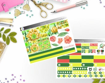 monthly kit - March (Happy Planner Stickers)